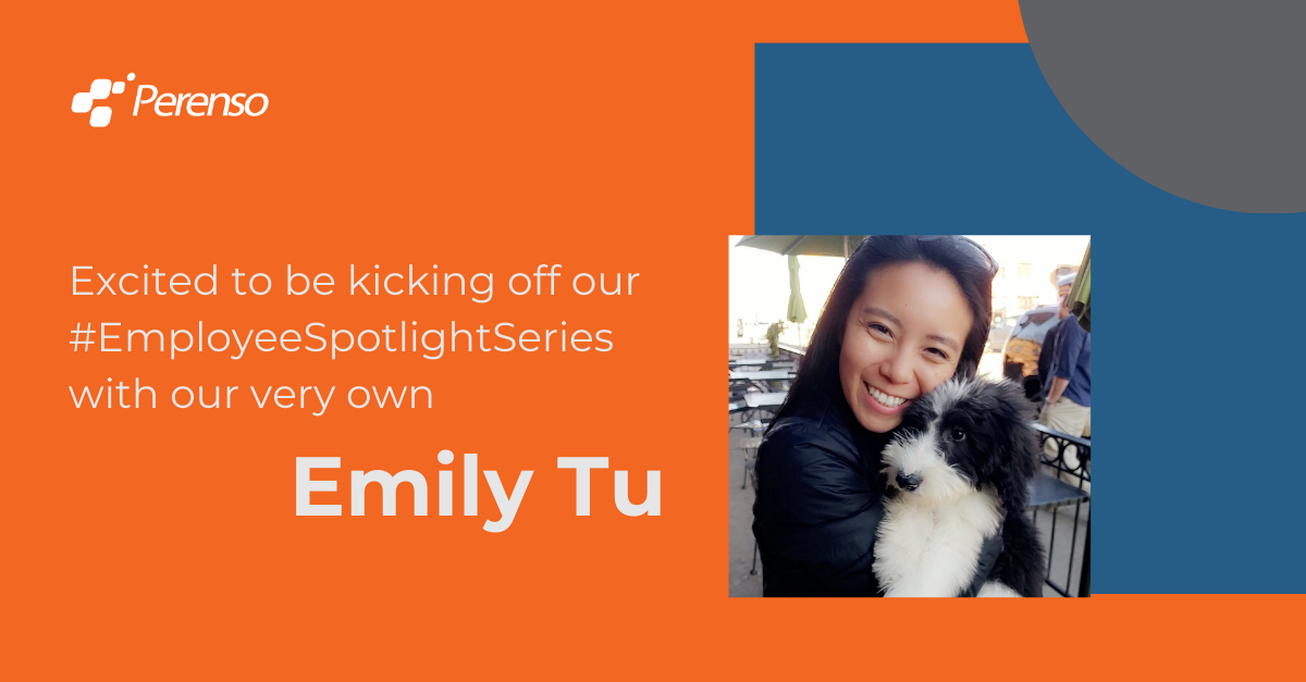 A new employee spotlight series starting with our Director of Customer Success, Emily Tu.